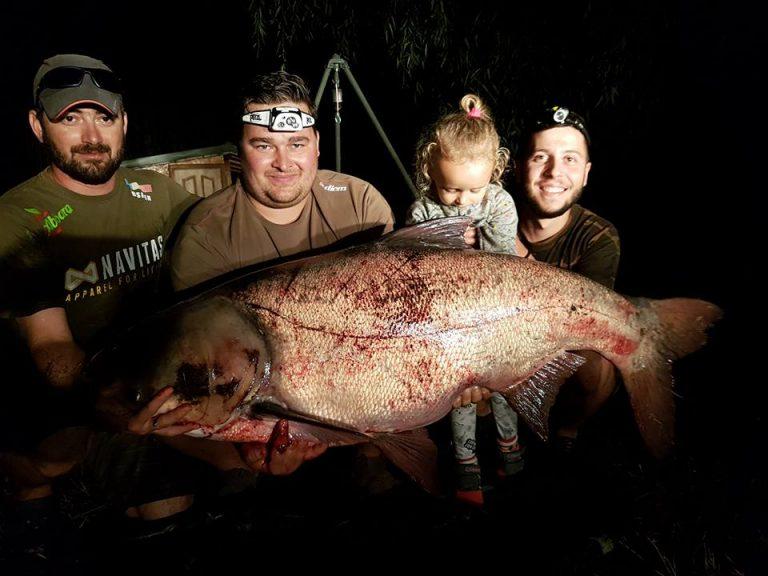 Record Lacul Green Paradise 2017 Novac 34,125 kg