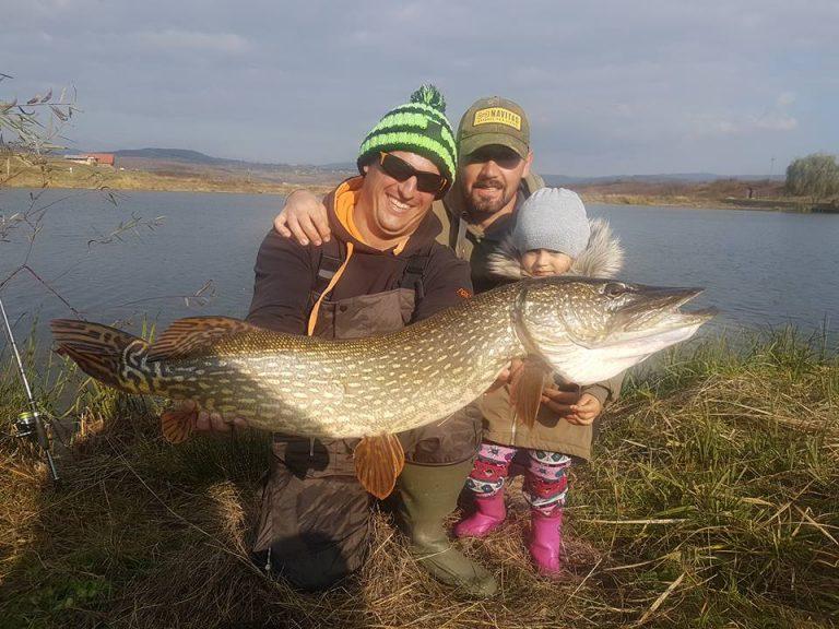 Recordul Lacului Green Paradise 2017 Stiuca 8,05 kg
